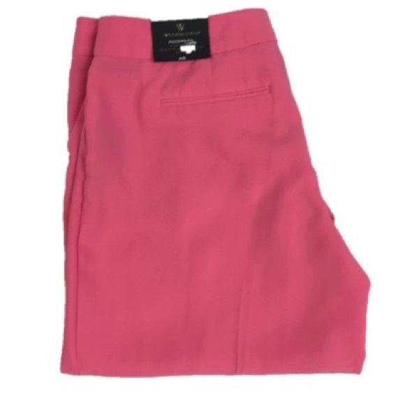 71a88d2dd2df8 NWT Worthington Modern Fit Wide Leg Pants Pink